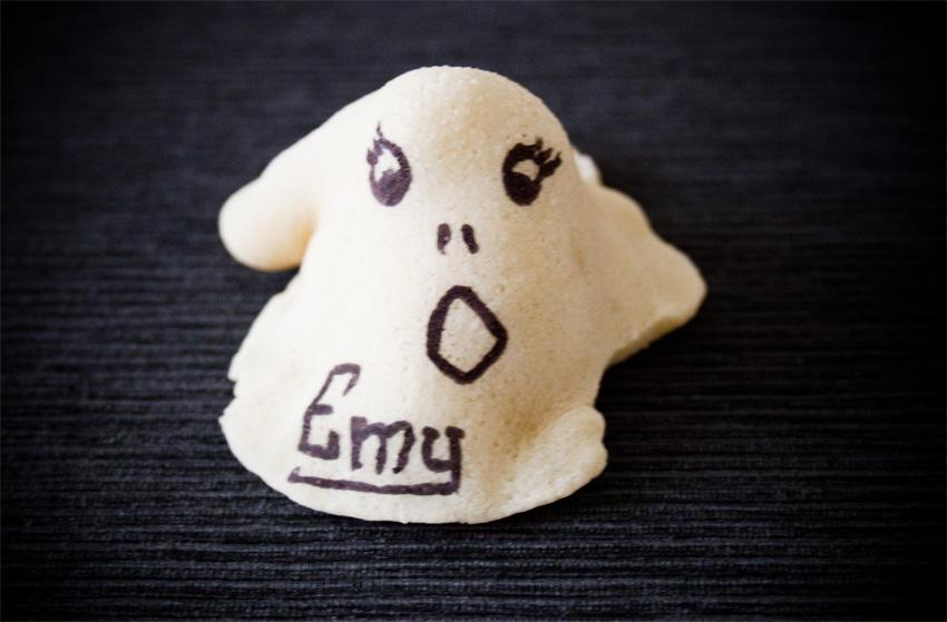 tutorial fantasma pasta di sale halloween