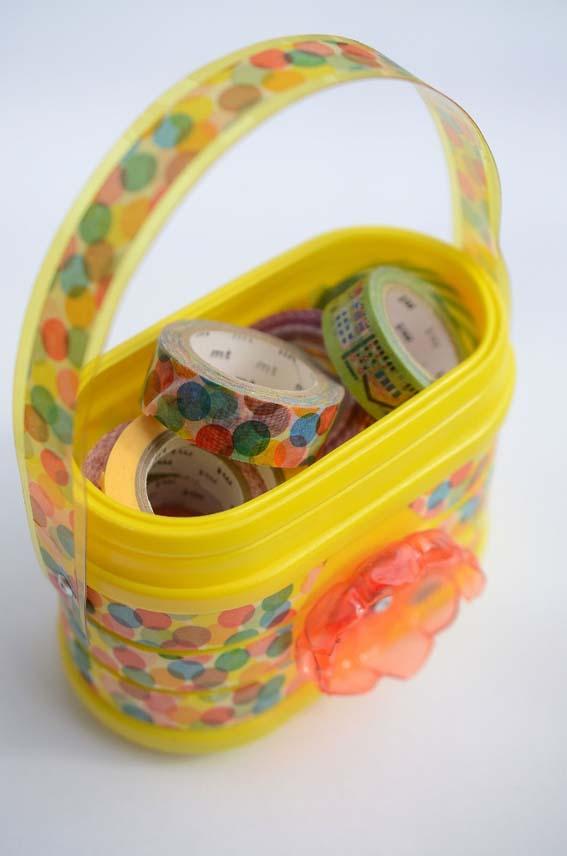 Tutorial borsa contenitore con materiali di riciclo_5