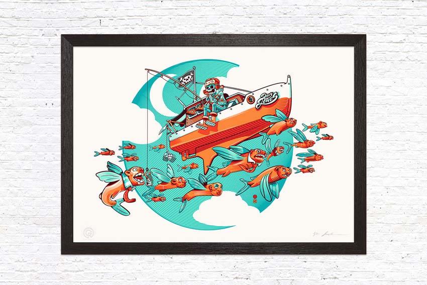 Gusto Robusto - stampa Davy Jones - David Sossella
