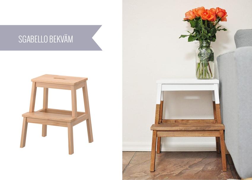 Ikea sgabello gaojian sgabelli pieganti di legno massiccio
