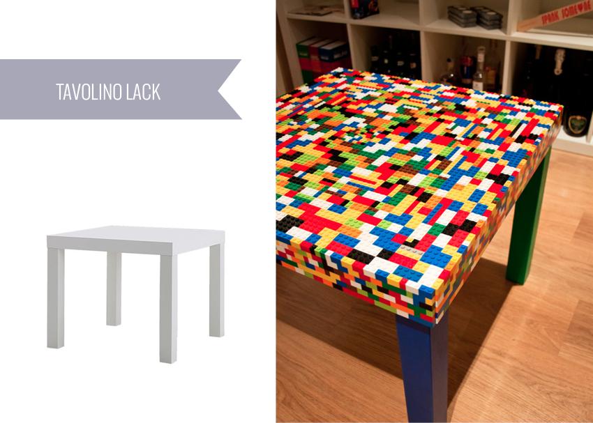 Ikea hacks 7 idee da provare for Tavolino ikea lack