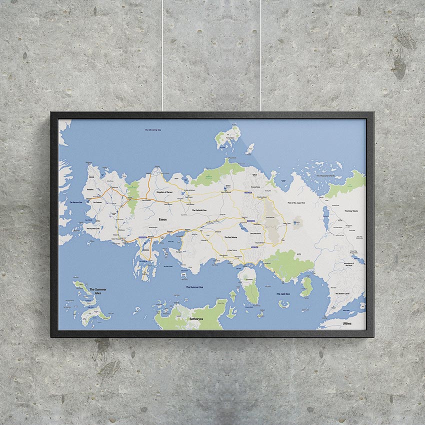 Game of Thrones - Google Maps Essos_1