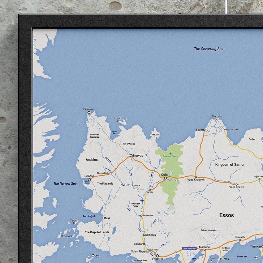 Game of Thrones - Google Maps Essos_2