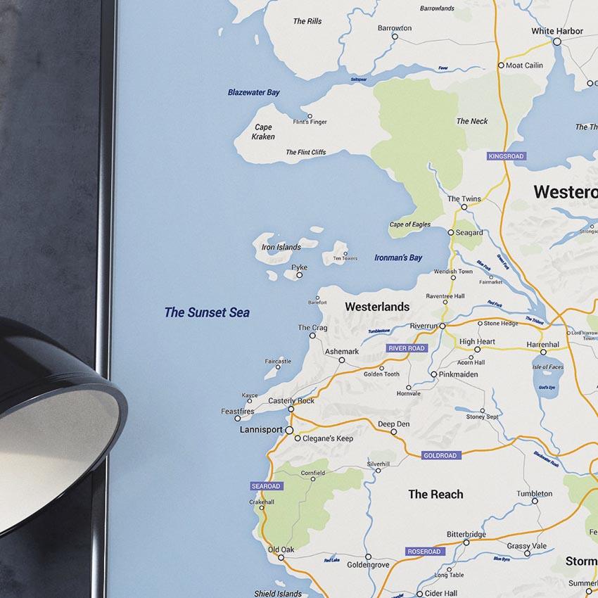 Game of Thrones - Google Maps Westeros_2